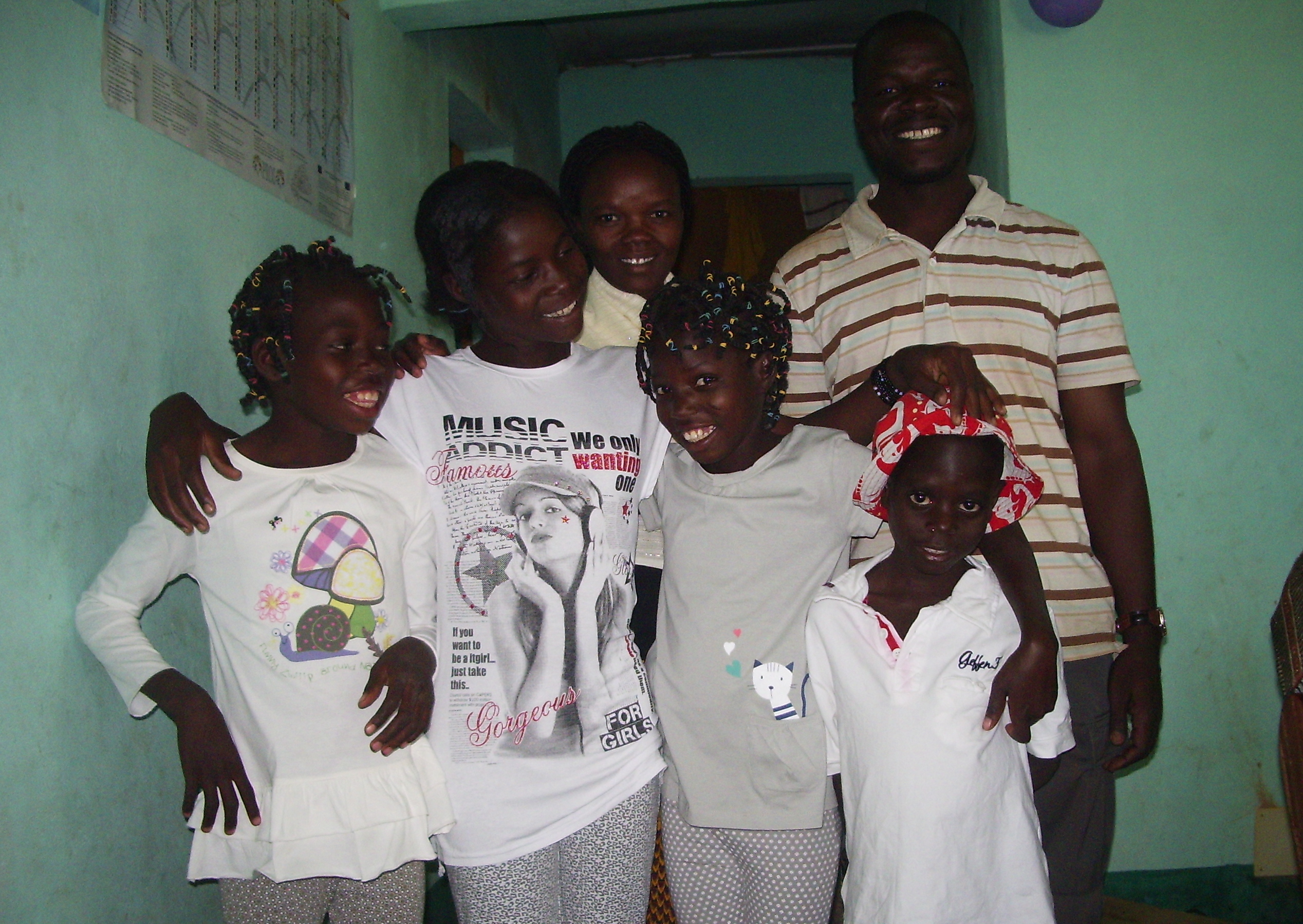 Orphelins de la maison Bethesda Burkina Faso