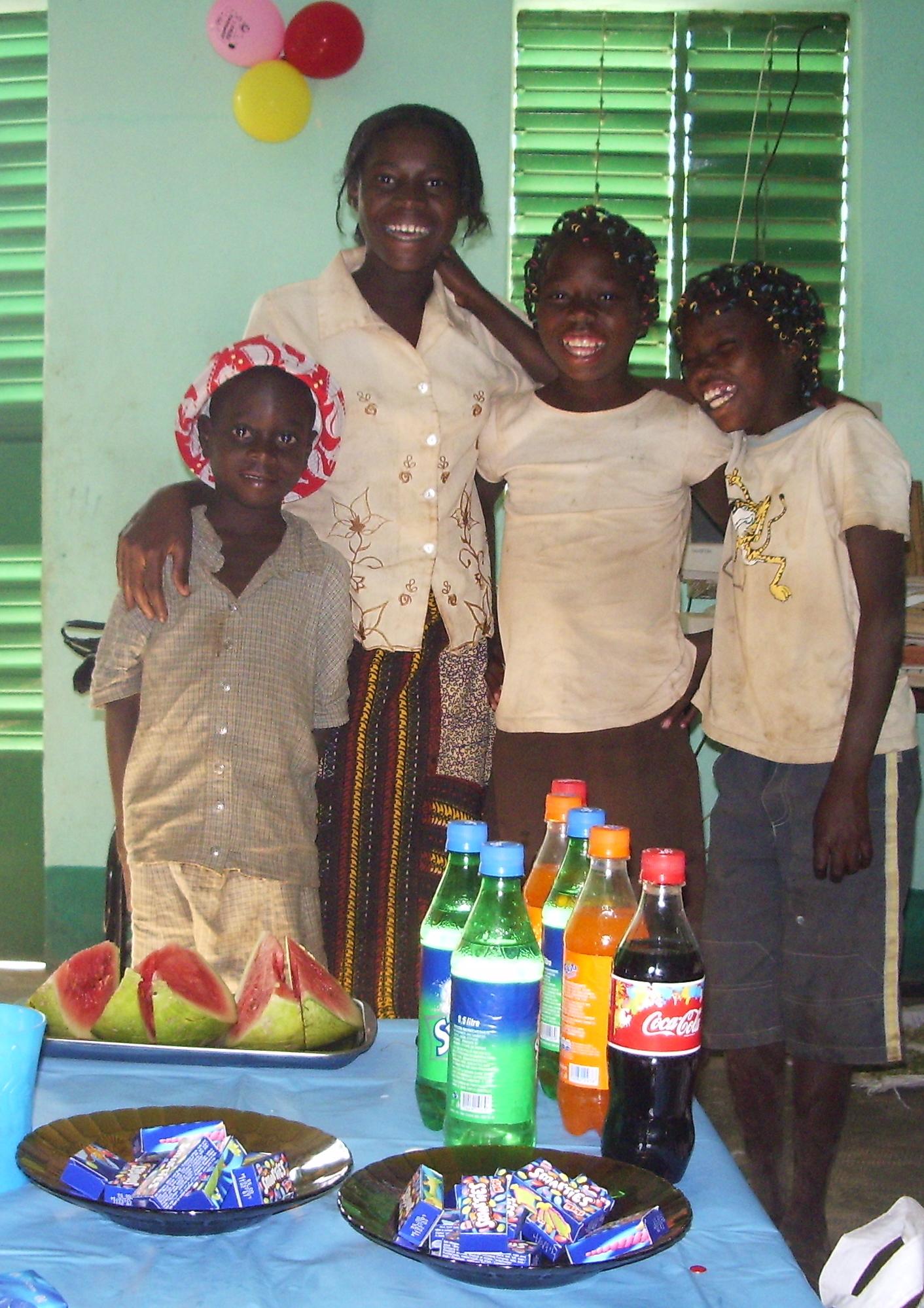 Fête de Noël avec les orphelins de Bethesda