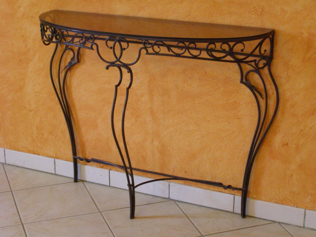 ferronnerie d 39 art rocle mobilier. Black Bedroom Furniture Sets. Home Design Ideas