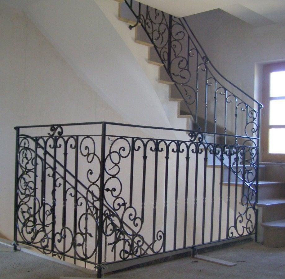 ferronnerie d 39 art rocle rampes d 39 escalier On modele de ferronnerie