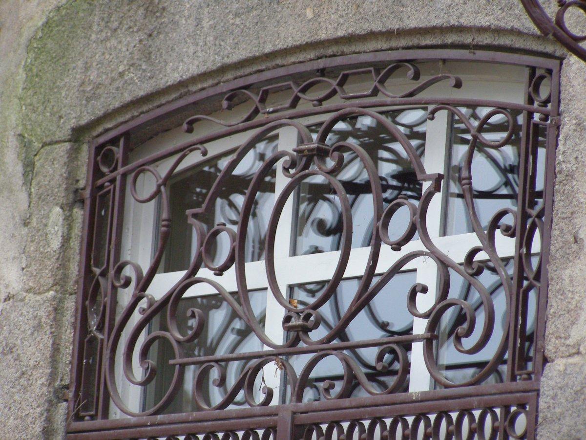 Ferronnerie d 39 art rocle portes grilles de portes et marquises - Ferronnerie d art moderne ...