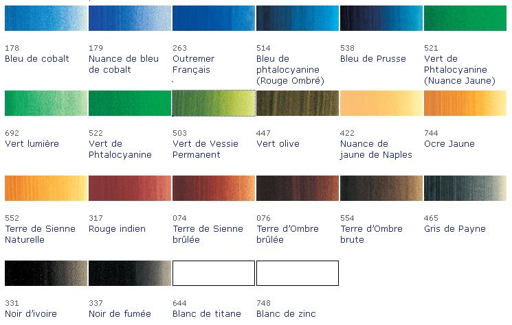 Speedpeinture nuancier peinture chambre - Nuances de bleu peinture ...